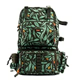 KINGDOM Fishing Tackle Backpack Large Storage Backpack for Trout Fishing Outdoor Sports Camping Hiking with Rod Holder