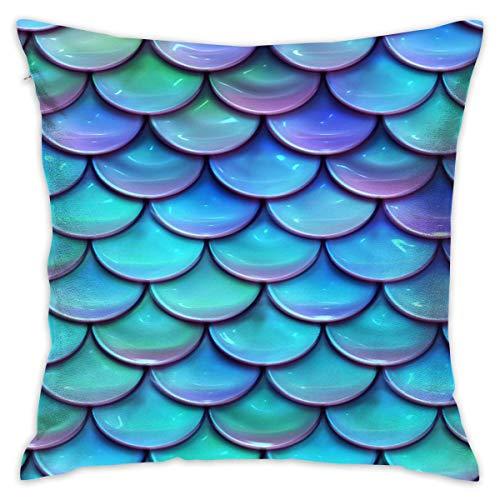 surce sprankelende zeemeermin schalen vis zacht comfortabel houden kussensloop kussens gooien kussen huis decoratieve kussensloop 18
