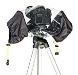 vhbw Funda Protectora, Cobertura para Lluvia para cámaras, videocámaras, DSLR