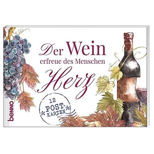 Postkartenbuch »Der Wein erfreue des Menschen Herz«: 12 Postkarten