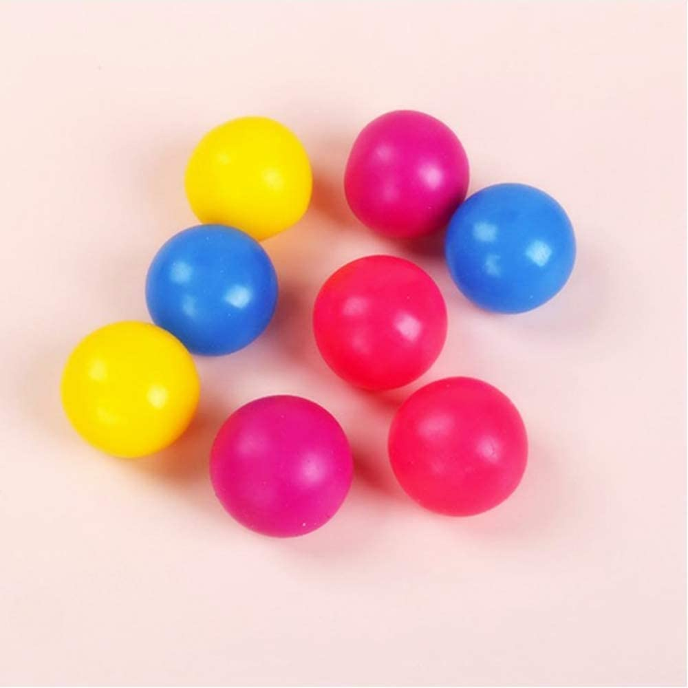 Suitable for Children and Adults to Vomit Sticky Balls Spherical Sticky Balls Attached to The roof Used on The Ceiling N \ A 5 Luminous Sticky Balls