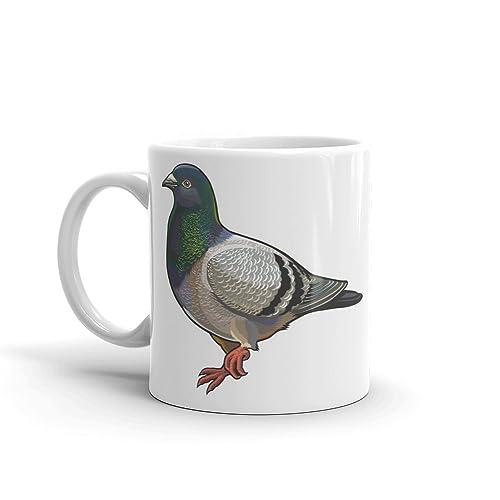 Cool Pigeon Mug - Great Gift Idea Bird Keeper Columbidae Birds Funny Dad #4648