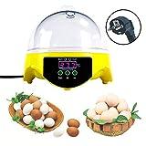 Huatuo 7 Huevos semiautomáticos Mini Digital Control de Temperatura incubadoras de...
