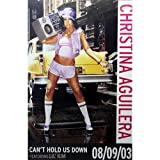 Christina Aguilera - Riesenposter Can´t Hold Us Down