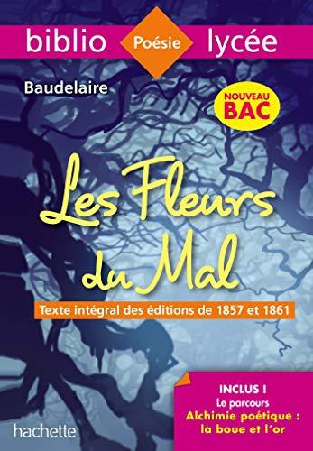 pas cher un bon Bibliolycée Les Fleursdumal Baudelaire BAC 2020 – Cours d'Alchimie Poétique (Texte intégral)
