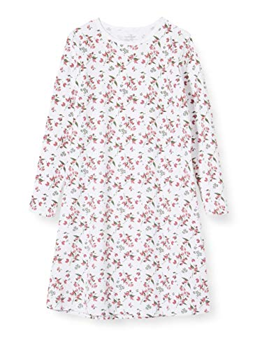 NAME IT Mädchen 13173281 Nachthemd, Mehrfarbig(Heather RoseHeather Rose), 110 (Herstellergröße: 110-116)