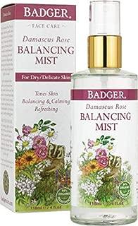 Badger Damascus Rose Balancing Mist - 4 oz Bottle