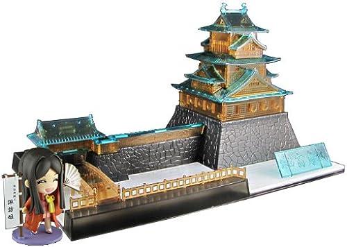 1 200 Castle Collection Suwa Takashima Castle clear version  Suwa Hime (party version) Set  (japan import)