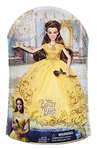 barbie bella e la bestia Disney Princess - Bambola La Bella e la Bestia con Vestito Deluxe