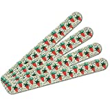 Berry Special Strawberries Double-Sided Nail File Emery Board Set 4 Pack