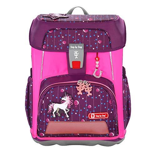 Step by Step Neon Pull-Over für Cloud Schulranzen, pink, Reflektorüberzug mit Leuchteffekt für mehr...