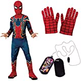 Marvel Avengers Child's Iron-Spider Costume Bundle, Small
