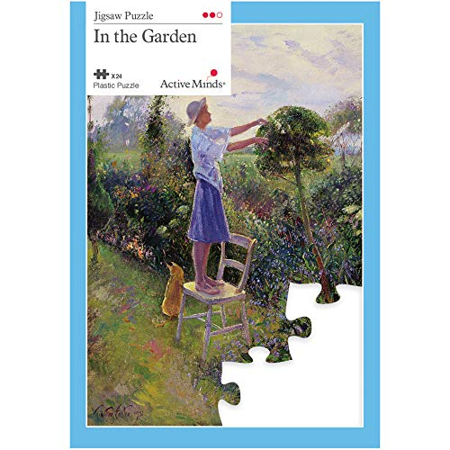 dans Le Jardin Puzzle 24 Pièces : Activités Adaptées aux Seniors Atteints de Démence ou d'Alzheimer