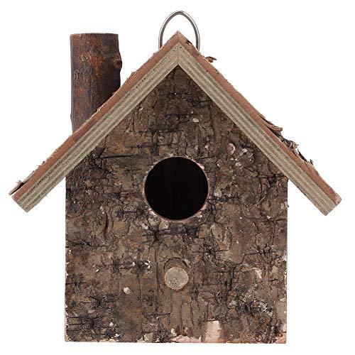 Nichoir, étanche à l'humidité Type Suspendu Maison en Bois pour Oiseaux Lieu de Repos des Oiseaux Fournitures pour Animaux Accessoires Garden Country Cottages