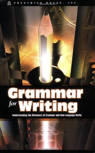 Price comparison product image Grammar for Writing: Understanding the Mechanics of Grammar and How Language works