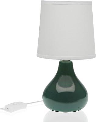 Versa, Lampe de table verte foncé, ligne lampes, table VS-10870158