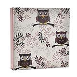 ARPAN - Álbum de Fotos para 200 Fotos de 10x15 (23 x 23 cm), diseño de búho