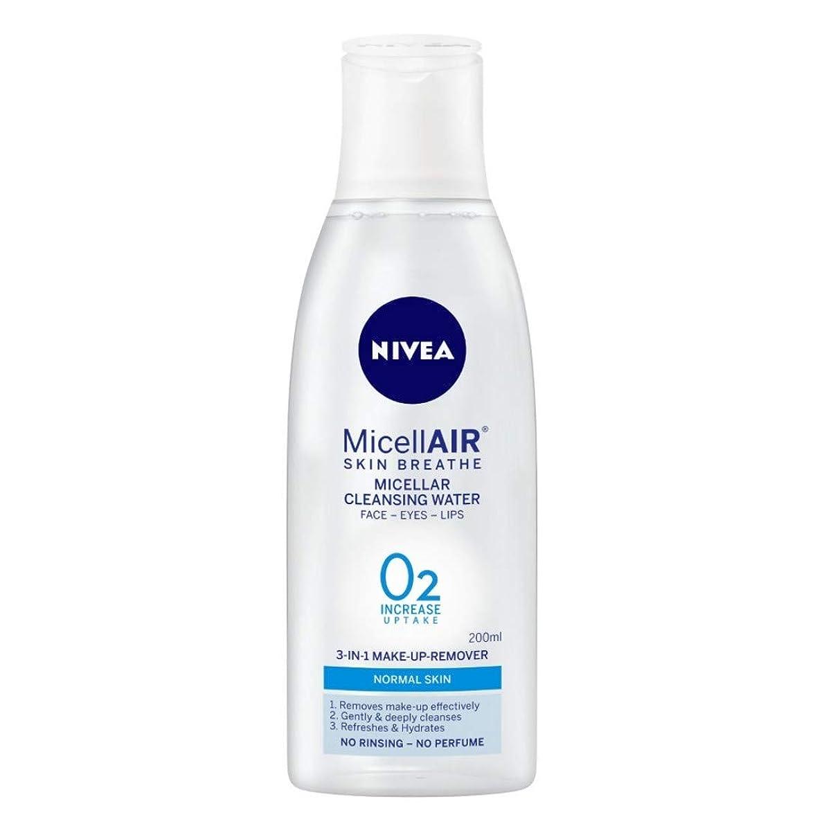 オールリマークリードNIVEA Micellar Cleansing Water, MicellAIR Skin Breathe Make Up Remover, 200ml