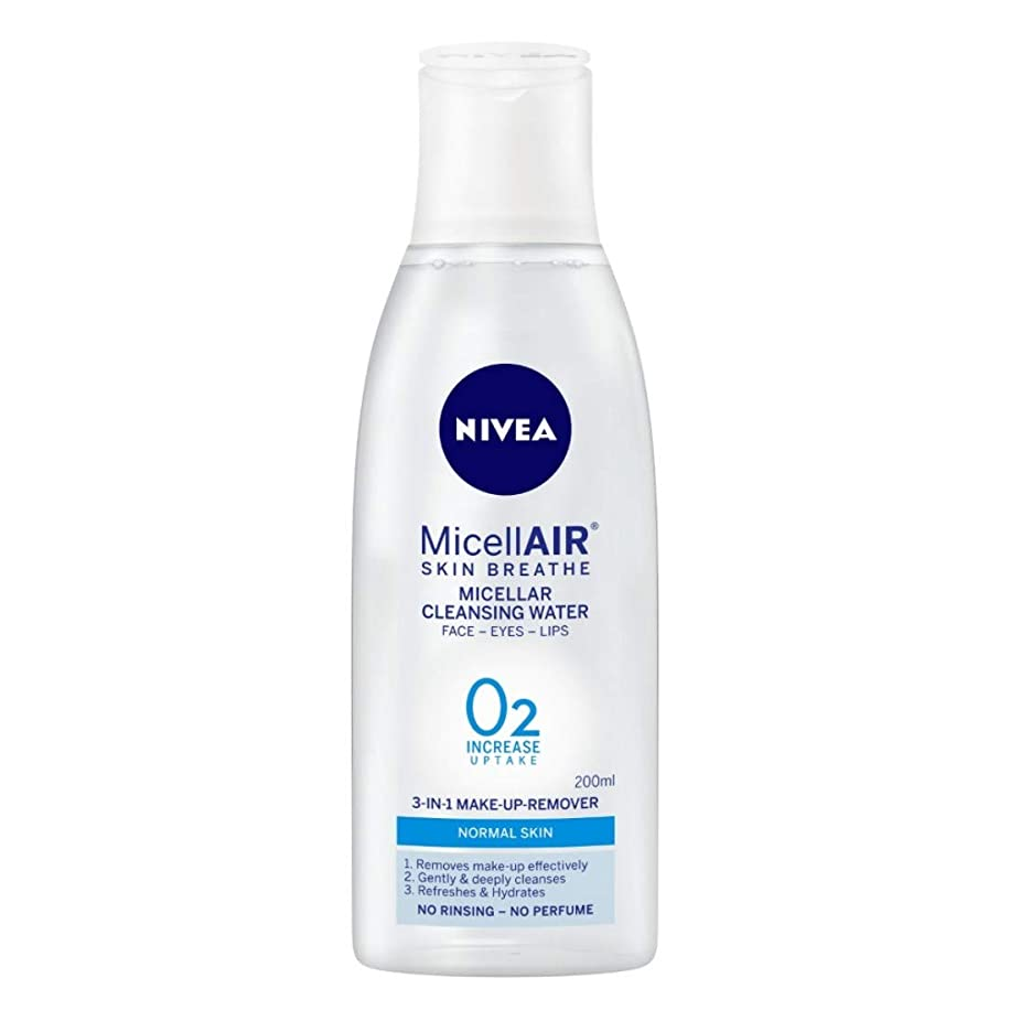 銀河印をつける原始的なNIVEA Micellar Cleansing Water, MicellAIR Skin Breathe Make Up Remover, 200ml
