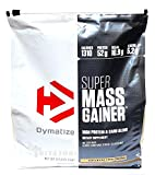 Dymatize Super Mass Gainer Protein Supplement with Digestive Enzymes, Cookies And Cream, 12
