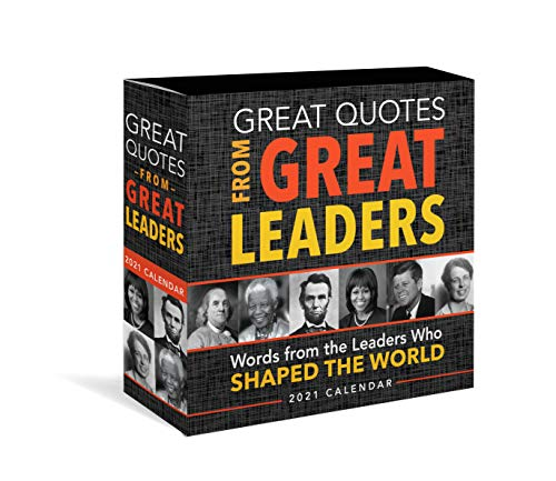 Great quotes from great leaders boxed calendar
