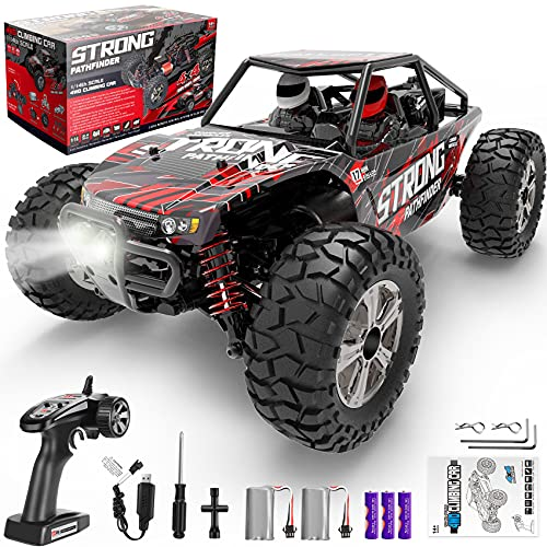 RADCLO 1:14 Scale RC Cars, 4WD High Speed 40 Km/h Monster RC Truck for All Terrain, 2.4 GHz Remote...