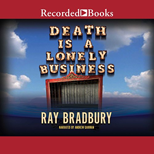Death Is a Lonely Business audiobook cover art