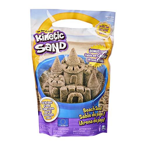 Kinetic Sand, The Original Moldable Play Sand, 3.25lbs Beach...