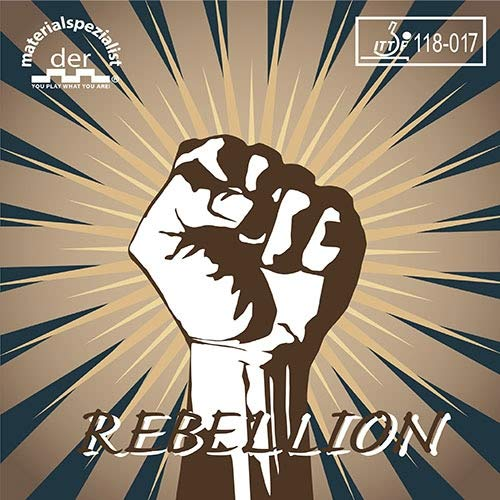 DER MATERIALSPEZIALIST Belag Rebellion (Langnoppe) Optionen 0,5 mm, schwarz