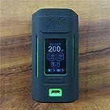 ModShield for Wismec Reuleaux RX2 20700 200W TC Silicone Case ByJojo Cover Shield Wrap Skin (Black)