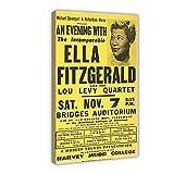 Vintage Ella Fitzgerald Rock & Roll Konzert-Gig Band