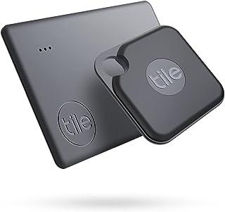 Tile Pro + Slim Combo (2020) Bluetooth-tracker, itemlocator & tracker voor sleutels en portemonnees of rugzakken en tablet...