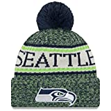 New Era Knitted Onfield Sport Beanie ~ Seattle Seahawks