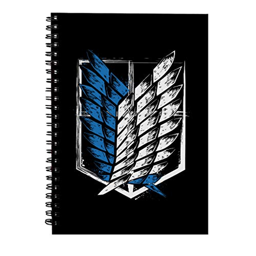 Attack On Titan Wings Of Freedom Spiral Notebook