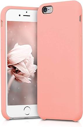 kwmobile Apple iPhone 6 / 6S Cover - Custodia per Apple iPhone 6 / 6S in Silicone TPU - Back Case Cellulare Oro Rosa Matt