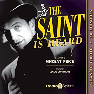 The Saint Is Heard audiobook cover art