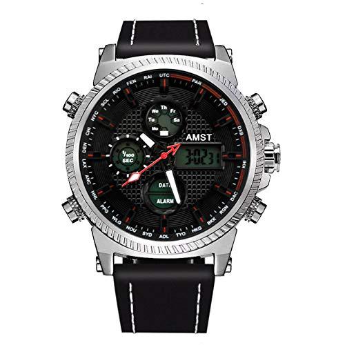 N-B Watch Student Multi-Function Watch Luminous Electronic Watch Sports Waterproof Men's Watch Belt