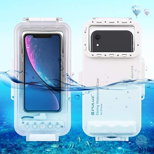 Carcasa para teléfono de 45 m sumergible para iPhone 11, iPhone X, iPhone 8 y 7, 6S iPhone, iOS o 13.0 encima de la versión iPhone