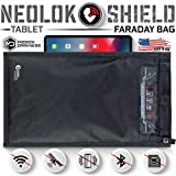 Mission Darkness NeoLok Non-window Faraday Bag for Tablets (+ Easy to Use Magnetic Closure) // Device Shielding for Law Enforcement & Military, Data Security, Anti-hacking & Anti-tracking Assurance