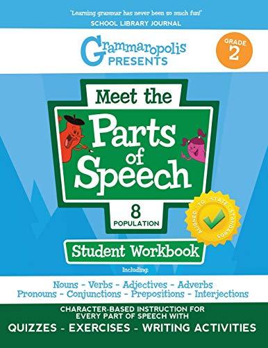 Grammaropolis: The Parts of Speech Workbook, Grade 2 (Grammaropolis: The Parts of Speech Workbooks)