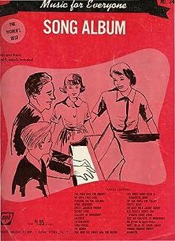Paperback Song Album (Music For Everyone, No. 34) Book