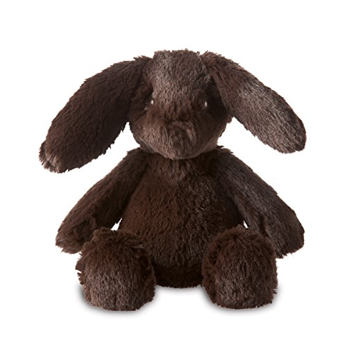 Manhattan Toy Lovelies Fritz Lapin Jouet en Peluche (Petit, Marron)