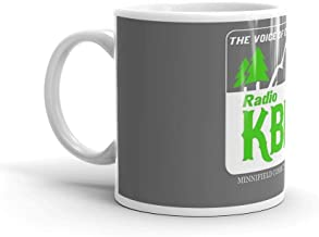 Radio K-BHR : Inspired by Northern Exposure. 11 Oz Mugs Makes The Perfect Gift For Everyone. 11 Oz Ceramic Glossy Mugs Gift For Coffee Lover