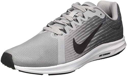 Nike Damen Downshifter 8 Running Laufschuhe, Grau (Wolf MTLC Dark Grey-Cool 006), 39 EU