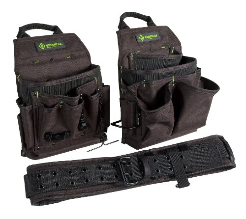 Greenlee 0158-16 Pouch/Belt Combo Bag