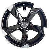 F931 BLP 1 Llanta de aleación 7,5J 17 5 x 100 ET35 57,1 para Audi A1 A1 Sportback 8X A3 8L Seat Ibiza Volkswagen Polo Golf 4 Italy