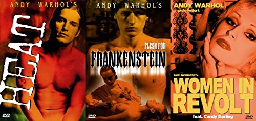 Uncut - ANDY WARHOL COLLECTION - Heat + Flesh For Frankenstein + Woman In Revolt 3 DVD Edition