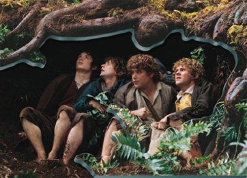 Ravensburger 16167 - Vier Hobbits in Gefahr, 1000 Teile