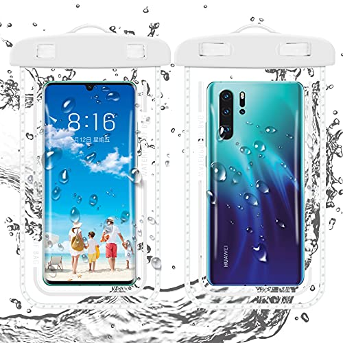 Universal Waterproof Case,Waterproof Phone Pouch Compatible for iPhone 12...