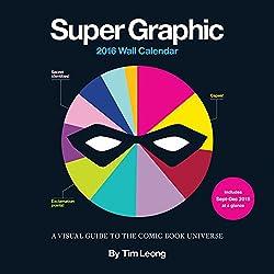 Super Graphic 2016 wall calendar